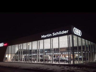 Audi Alkmaar nacht_corner
