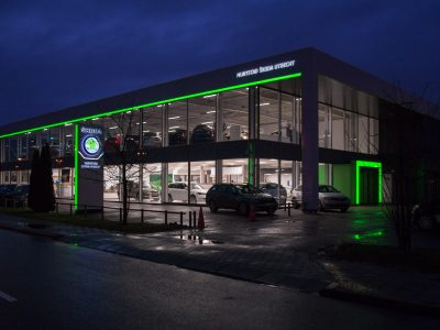 Nijs Lichtprojecten Skoda Muntstad de Meern