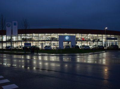 Nijs Lichtprojecten Volkswagen de Meern