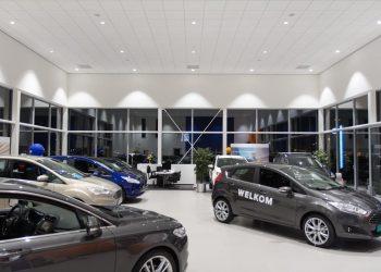 Nijs Lichtprojecten Showroom Verlichting Ford Schakel
